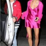 Hailey Baldwin With Her Ex-Boyfriend Cameron Dallas