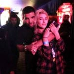 Hailey Baldwin With Her Ex-Boyfriend Drake