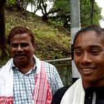 Hima Das with her coach