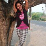 Hima Shankar during her teenage