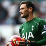 Hugo Lloris playing for Tottenham Hotspur