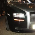 Imran Khan In His Rolls Royce