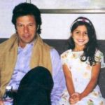 Imran Khan With His Daughter Tyrian White