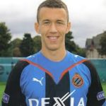 Ivan Perisic playing for Club Brugge