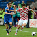 Ivan Perisic playing in Euro 2012