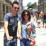 Ivan Perisic with his wife Josipa Perisic