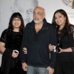 J.P. Dutta with his daughters