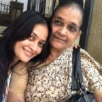 Jaswir Kaur with her mother