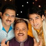 Kapil Soni (Left) with serial star cast