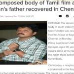 Karan's Father Found Dead