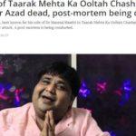 Kavi Kumar Azad Passed Away