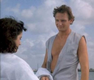 Liam Nesson in Miami Vice