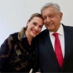 Lopez Obrador With His Second Wife Beatriz Gutiérrez Müller