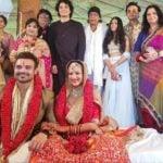 Madalsa Sharma and Mahaakshay Chakraborty aka Mimoh marriage photo