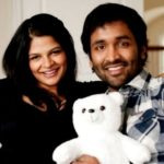 Manchu Vishnu with his wife Viranica Reddy