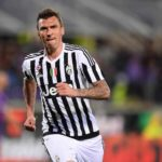 Mario Mandzukic playing for Juventus