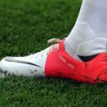 Mario Mandzukic putting name of gf and dog on his boots