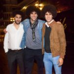 Marouane Fellaini with his brothers Mansour and Hamza