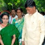 NTR's Daughter (Nara Bhuvaneswari) With Her Husband (Nara Chandra Babu Naidu)