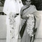 NTR With His First Wife (Basavatarakam Nandamuri)