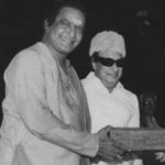 NTR With His Friend M. G. Ramachandran