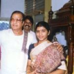 NTR With His Second Wife (Lakshmi Parvathi)