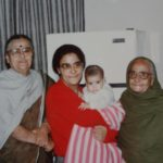 Namita Bhattacharya (Centre) With Her Mother (Extreme Left) And Maternal Grandmother (Extreme Right)