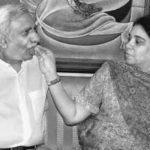 Naresh Goyal with his wife Anita Goyal