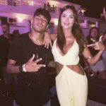 Neymar and Thaila Ayala