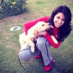 Nikita Anand loves dogs