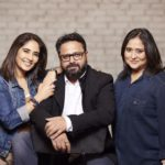 Nikkhil Advani With His Sister And Madhu Bhojwani