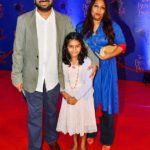 Nikkhil Advani With His Wife And Daughter