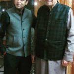Nivedita Bhattacharya father and brother Vicky Bhattacharya