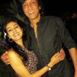 Nivedita Bhattacharya with her husband Kay Kay Menon