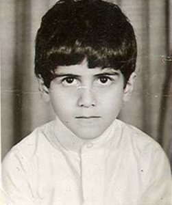 Osama Bin Laden as a child