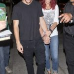 Paris Jackson With Chester Castellaw