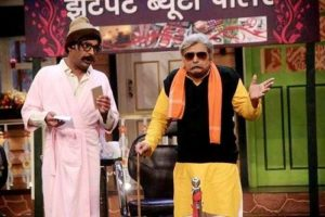 Paritosh Tripathi on the set of 'The Kapil Sharma Show'