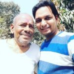 Paritosh Tripathi with his father Raman Tripathi