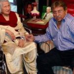 Pervez Musharraf With His Mother
