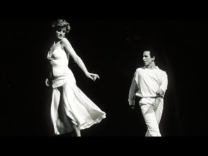 Princess Diana performing with Ballet star Wayne Sleep