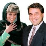 Princess Diana With Her Ex-Boyfriend Hasnat Khan