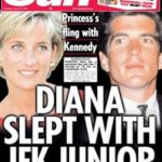 Princess Diana With Her Ex-Boyfriend John Kennedy Jr