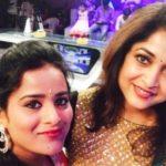 Priyanka with Ramya Krishanan
