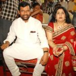 Ram Vilas Paswan with his second wife