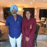 Rani Rampal With Baldev Singh