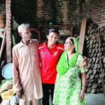Rani Rampal With Her Parents