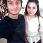 Rashmi Agdekar with her brother Abhishek Agdekar