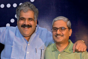 Raul Bhatia with his aviation partner Rakesh Gangwal