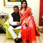Ravi Shankar Prasad With His Daughter