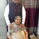 Ravi Shankar Prasad With His Mother